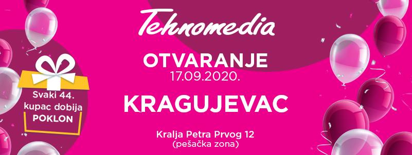 Svečano otvaranje nove Tehnomedia radnje u Kragujevcu