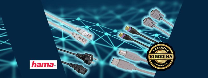 Sigurnost uz Hama kablove i adaptere