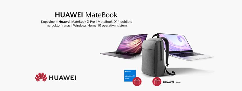 Huawei MateBook plus pokloni