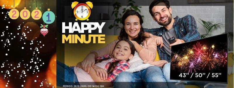 Happy minute akcija!!!