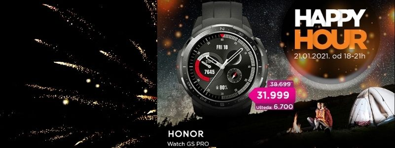 Happy Hour Honor akcija