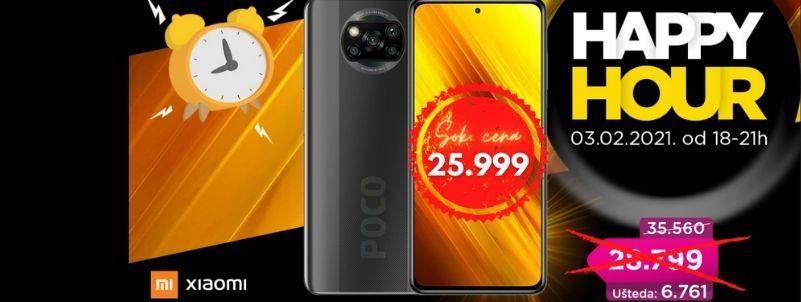 Xiaomi Poco X3 NFC 6/128 GB Happy hour