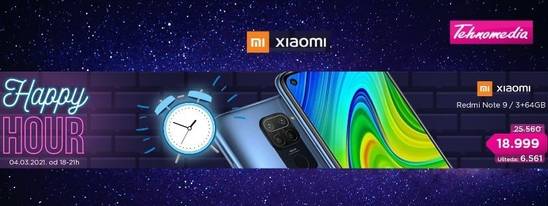 Happy Hour Xiaomi Redmi Note 9!!!