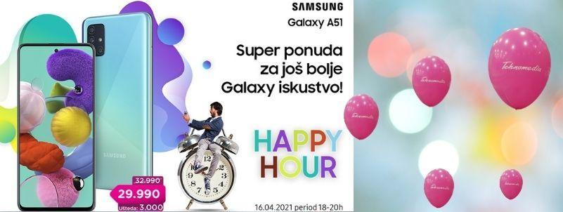Happy hour Samsung A51!!!
