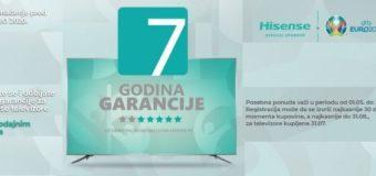 Hisense TV – 7 godina garancije