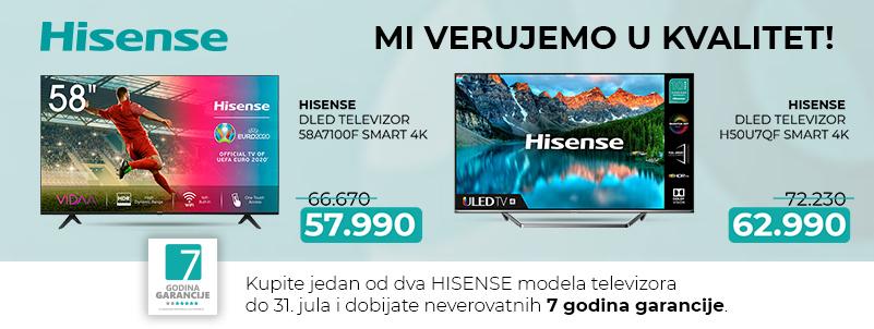 Televizori Hisense – kvalitet i sigurnost