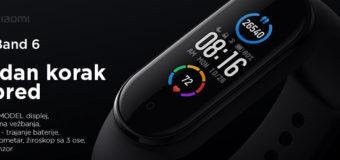 Fitnes narukvica – Xiaomi Mi Band 6